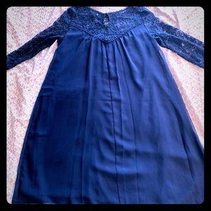 Navy Blue Luxology Dress